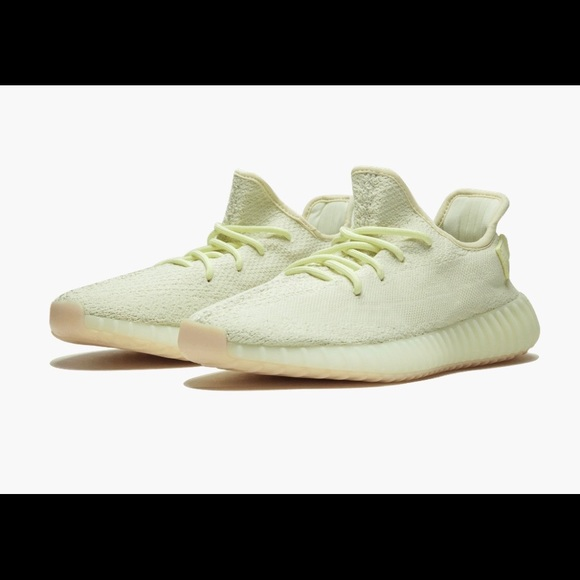 new concept 442e7 8a820 BRAND NEW YEEZY BOOST 350 V2 BUTTER YELLOW- SZ M9 NWT